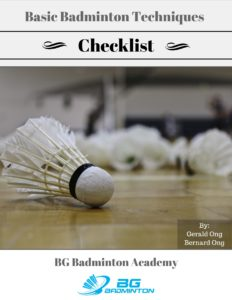 Basic Badminton Checklist Cover