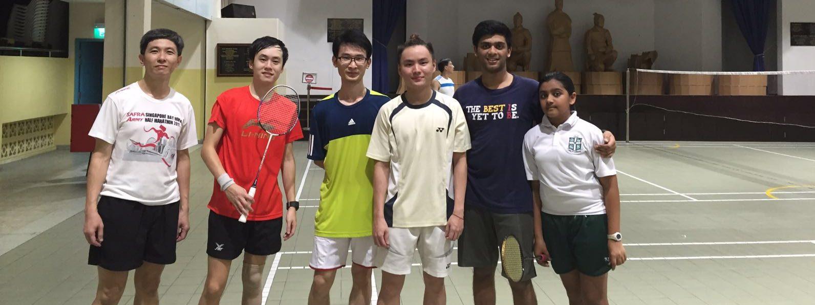 Coach Li Wei coaching Tues Group Class